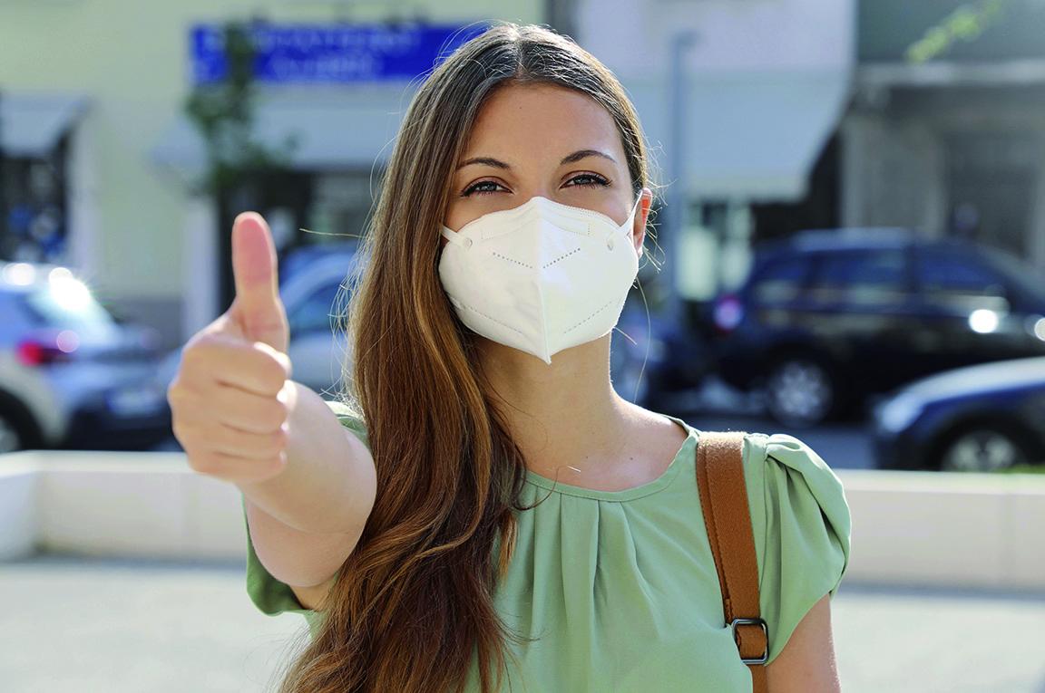 Verteilung medizinischer Masken an bedürftige Bürgerinnen und Bürger